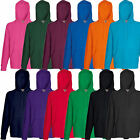 Fruit of the Loom Herren Kapuzenpullover Kapuzen Sweatshirt Hoodie S M L XL XXL