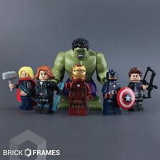Lego The Avengers Minifigure lot - BRAND NEW - Hulk Thor Iron-Man Hawkeye Widow