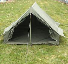 ORIGINAL französisches Armeezelt 2-Mannzelt mit Boden NEUWERTIG Zelt Camping