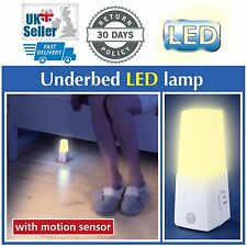 Wenko Underbed LED Lamp With Motion Sensor Wireless Battery Powered Night Light