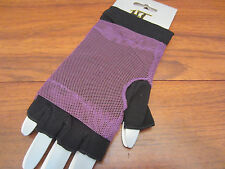 2 IN 1 FINGERLESS MESH GLOVES FROM HOT TOPIC DIFFERENT COLORS TO CHOOSE FROM