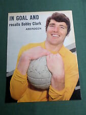 BOBBY CLARK - ABERDEEN PLAYER-1 PAGE MAGAZINE PICTURE- CLIPPING/CUTTING