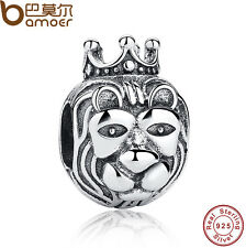 Authentic 925 Sterling Silver Charm The Lion King Fitting Bracelets Black Friday