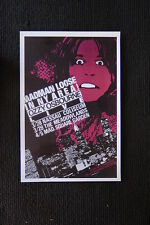 Ozzy Osbourn Tour Poster New York City Madison Square G