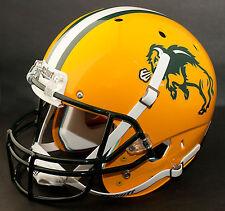 NORTH DAKOTA STATE BISON Schutt AiR XP Authentic GAMEDAY Football Helmet NDSU