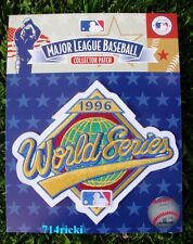 Official 1996 MLB World Series Patch New York Yankees vs Atlanta Braves