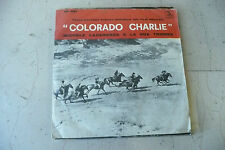 "MICHELE LACERENZA""COLORADO CHARLIE-disco 45 giri ARIEL IT1963""SOUNDTRACK WESTERN"