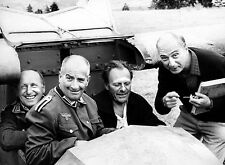 PHOTO LA GRANDE VADROUILLE - BOURVIL, LOUIS DE FUNÈS, GÉRARD OURY, TERRY-THOMAS