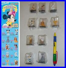 SET 10 Figure DISNEY CHARACTERS FIGURE COLLECTION Part 5 YUJIN JAPAN Gashapon