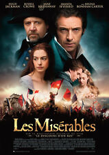 Les Miserables Film Repro POSTER