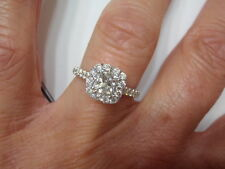 NEIL LANE BRIDAL PRINCESS DIAMOND ENGAGEMENT RING KAY 1.50 CTW  KAY WARRANTY