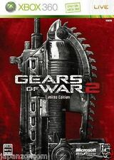 Used Xbox 360 Gears of War 2  MICROSOFT JAPAN JP JAPANESE JAPONAIS IMPORT