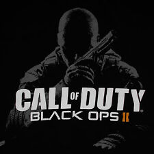 Call of Duty Black Ops 2 T-Shirt Medium Video Game Cover Art Shooter Activision