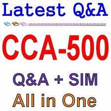 Cloudera Certified Administrator for Apache Hadoop CCAH CCA-500 Exam Q&A PDF+SIM