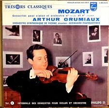 RARE PHILIPS TRESORS CLASSIQUES Mozart GRUMIAUX PAUMGARTNER Violin 00.313