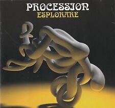 PROCESSION   esplorare    CD      italian prog - psych  - progressive