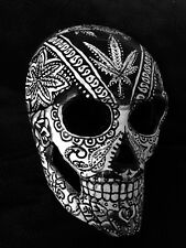 420 Bandana Sugar Skull Mask Day Of The Dead Dia De Los Muertos Mary Jane Art