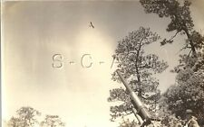 WWII US Large RPPC- Artillery Cannon- Sites Airplane- 90mm AA Gun- 62nd ADA RGT