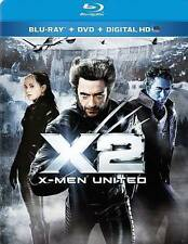 X2: X-Men United (Blu-ray Disc, 2014, 2-Disc Set, Digital Copy) NEW