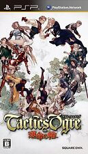 Used PSP Tactics Ogre Wheel of Fate Unmei no Wa Japan Import ((Free shipping))
