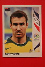PANINI FIFA WORLD CUP GERMANY 2006 06 N. 423 AUSTRALIA VIDMAR  MINT!!!