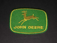 MOTORSPORTS MOTOR RACING SEW/IRON ON PATCH:- JOHN DEERE (a) Small