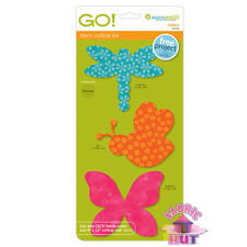 55030- Accuquilt GO!, Big, & Baby Critters Bugs Fabric Cutter Die Quilt Block