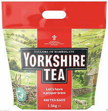 Yorkshire 480 Teabags,  Black Tea