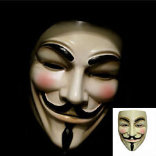 Hot V for Vendetta Mask Guy Fawkes Anonymous Halloween Masks Fancy Dress Costume