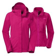 NORTH FACE WOMEN BOUNDARY WATERPROOF TRICLIMATE 3 IN 1 HOODED SNOW JACKET SIZE S