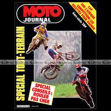 MOTO JOURNAL HS 19 HORS-SERIE ★ TOUT-TERRAIN 1984 ★ TRUCS GUIDE PRATIQUE CONSEIL