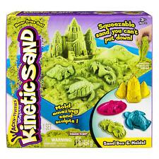 Wacky-Tivities Kinetic Sand Sandbox and Mold - Green
