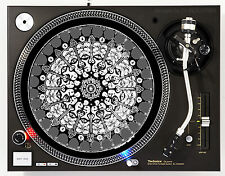 DJ INDUSTRIES THE EVIL KING - DJ SLIPMATS (1 PAIR) 1200's or any turntable