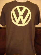 VOLKSWAGON VW- T-SHIRT-LARGE- CLASSIC LOGO  OFFICIAL VW MERCHANDISE