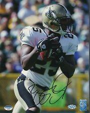 Reggie Bush Saints Signed 8x10 Photo Autograph Auto Mounted Memories