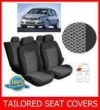 Tailored seat covers for VAUXHALL ASTRA H 2004-2009  full set grey2