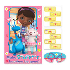 Disney Doc McStuffins Birthday Party Poster 8 Player Party Game Set