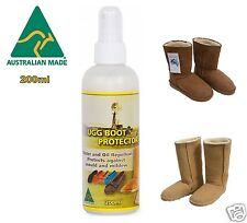 Ugg Boot Sheepskin Protector Water & Stain Waterproof Spray Leather Suede Fabric
