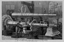 COAST DEFENCE QUESTION FINISHING FORGING HEAVY GUNS IN THE NAVY YARD WASHINGTON
