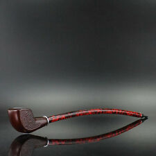 "Wooden Pipe Gandalf Style Churchwarden Smoking Pipe Tobacco Cigar Gift 15"" Long"