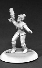 REAPER SAVAGE WORLDS - 59044 Rippers, Masked Crusader Female