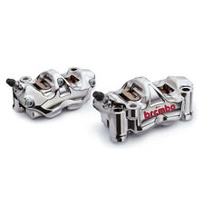 Brembo HP Front Radial Brake GP4RX GP4-RX Calipers Kit w/ Aluminum Pistons 100mm