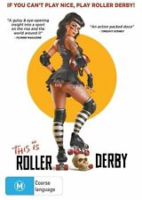 This Is Roller Derby (DVD, 2013)-REGION 4-Brand new-Free postage