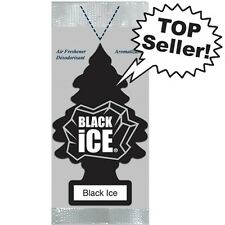 BLACK ICE Little Trees Hanging Car/Home Air Freshener, 6 PACKS(144pc) WHOLESALE