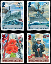 Falkland Is 2014 Centenary of Battle of Falklands 4v set MNH
