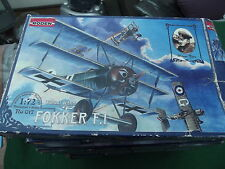 RODEN WW 1 FOKKER F.I AS FLOWN BY WERNER VOSS 1:72 SCALE MODEL KIT