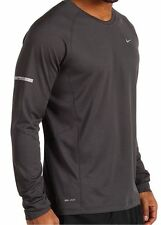 MEN'S NIKE MILLER LONG SLEEVE RUNNING SHIRT UPF 40+ SIZE SMALL 744710 060 NWT