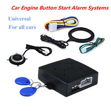 Keyless Entry Car Push One Button Lock Engine Starter Ignition Immobilizer Alarm