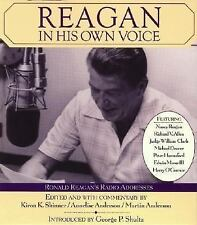 NEW Reagan in His Own Voice by Ronald Reagan Compact Disc Book (English)