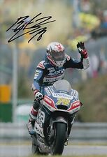 Loris Baz Hand Signed 12x8 Photo Avintia Racing Ducati 2016 MOTOGP 2.